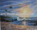 ภาพวาดทะเลคลื่น, ภาพวาดทะเล, จิตรกรรมสีน้ำมันที่กำหนดเอง