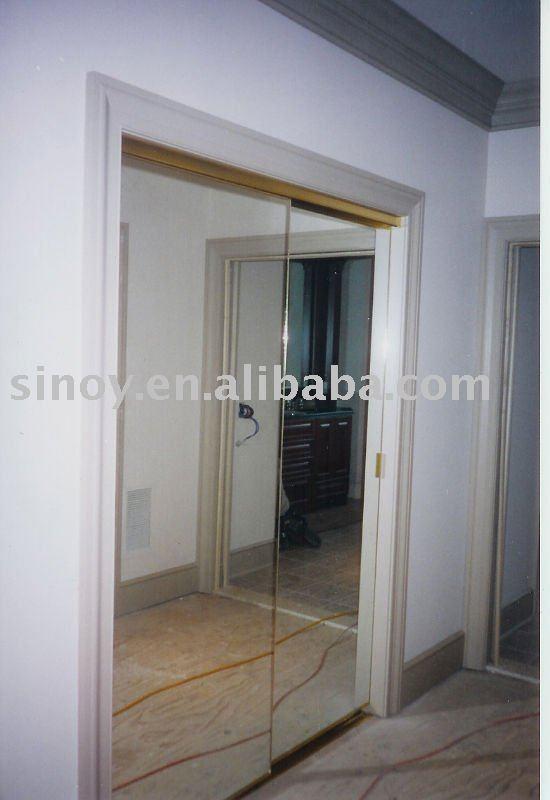 Corredera de espejo armario espejos identificaci n del - Como hacer un armario con puertas correderas ...