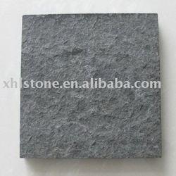 Flamed+Brushed Black Granite