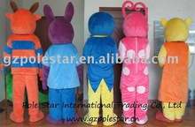 NO.805 Backyardigan costume from back side