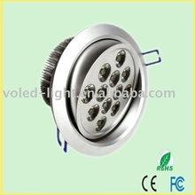 LED down lighting 12w VOL-DL12A(12*1W) CE FC ROHS