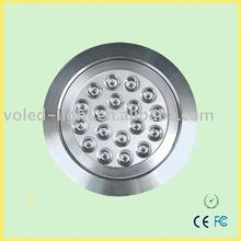 LED down lighting 18w VOL-DL18 18*1w CE FC ROHS