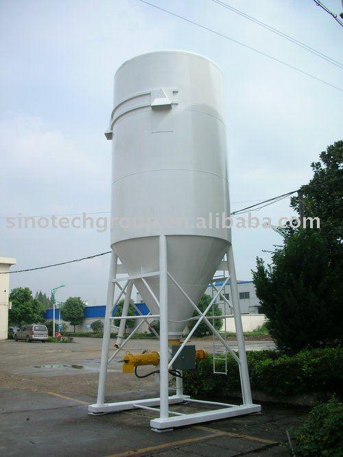 silo en bloc de mortier