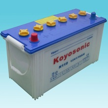 12v 110Ah Auto battery,fournisseur de batterie auto