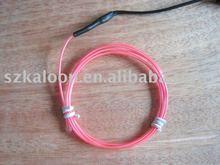 multicolor EL flashing wire(cable)