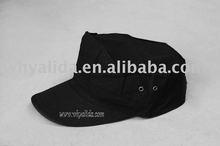 T/C 65/35 twill ripstop Military Army Black garrison cap