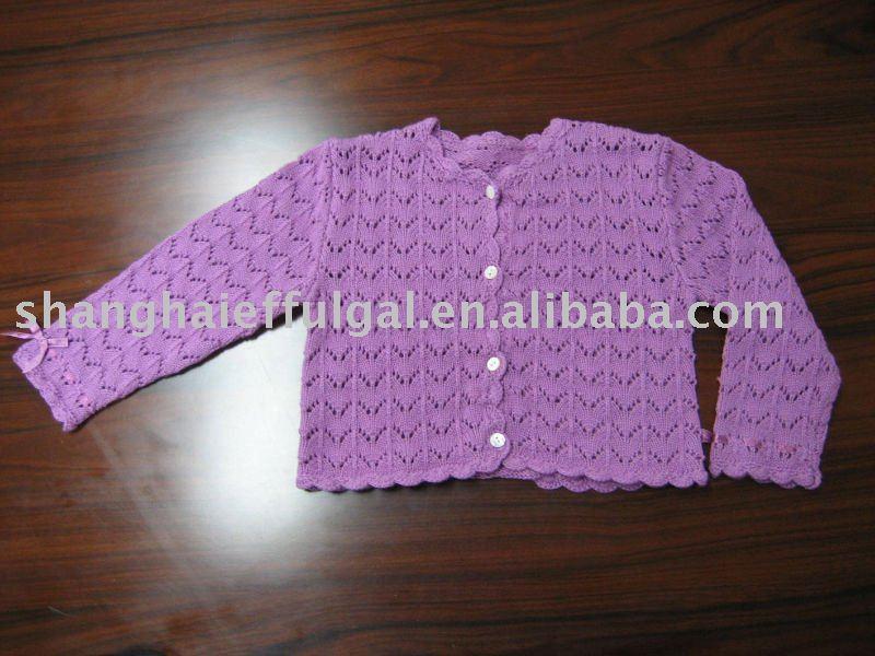 Crochet bebé suéter( cw- 0351)-Suéter de bebé-Identificación del ...