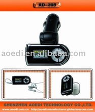 Hot sell, Bluetooth handsfree car M P3 player with fm transmitter can attach into sun-visor(CE/FCC Approved)