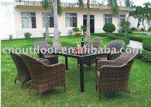 outdoor rattan furniture rattan dining set/garden dining set