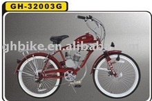 "24"" CE beach cruiser gas engine moto bike"