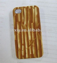 Hot Sale for iphone 4S bamboo pattern cell phone back case
