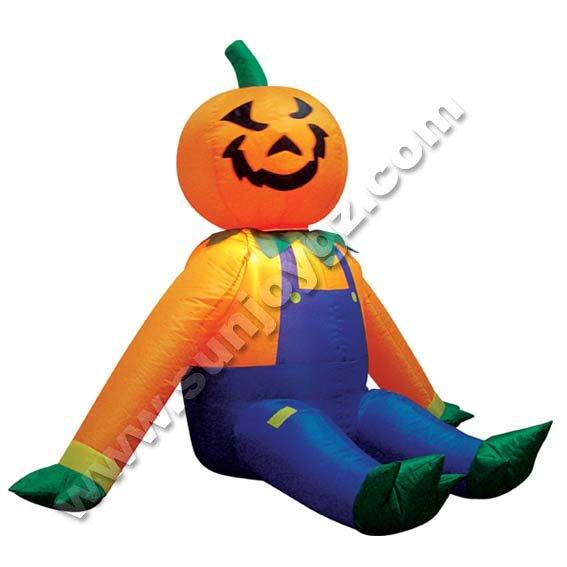 Inflable de la decoración de Halloween