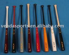 Wooden grain baseball bat