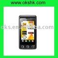 المألوف شاشة تعمل باللمس للهاتف المحمول GSM KP500 أورانج