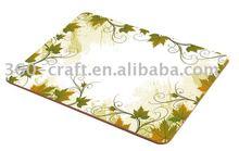 Melamine/UV/lamination finishing kitchen cork backing table mats