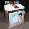 Acrylic Make Up Display Stand With Testing Mirror