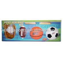 4 balls set sports mini ball set