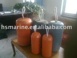 Marine Polyurethane rubber Floating fenders and Flucrescence Floating Fenders