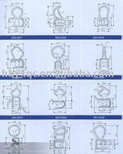 EPDM Rubber seal strip component rubber