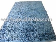 Chenille shaggy carpet/rug