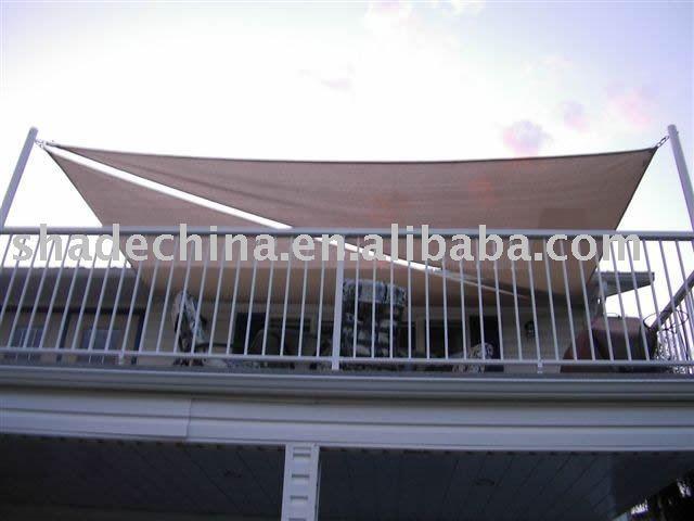 Balcon pare soleil auvent voiles filet d 39 ombrage id du - Pare soleil balcon ...