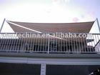 Balcony sun shade awning