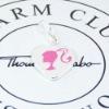 plata 2010 de la moda encanto joyas colgantes-CM0044
