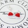 plata 2011 de la moda de joyería colgante encanto-CM0046