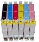 COMP 5PK BLACK T0781 compatible FOR EPSON RX580 RX595 RX680