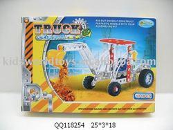 DIY metal construction truck 131pcs
