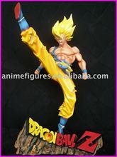 Dragon Ball Z anime resin figures