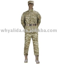 T/C Blends Tiger Stripe Ripstop/Twill Suit 3 Generation digital camo Military uniform