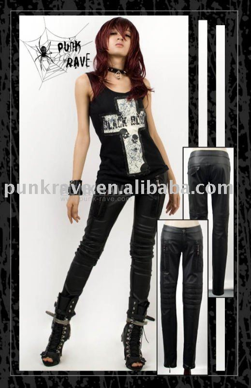 K103 Fashion Leather Pants from Punk Rave