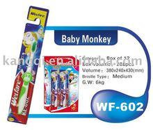FDA,CE,ISO9001 passed Kid toothbrush WF-602