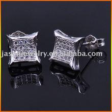 925 silver stud earrings,JE4696