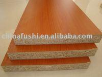 Red Melamine chipboard for furniture