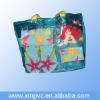 Plastic shoppping carrying handle pouch D-H077