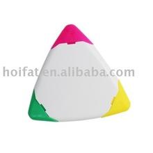 triangle Marker/trigonometry nite writer pen/Highlighter/Fluorescent pen/Hi-LIGHTer
