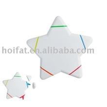 star Marker/triangle Marker/star trigonometry nite writer pen/star Highlighter/star Fluorescent pen/Hi-LIGHTer