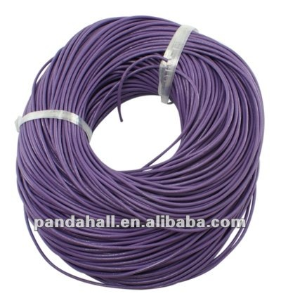 imitation leather cord  round