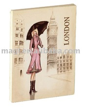 London City with Lady Wood Fridge Magnets