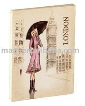 London City with Lady Wood Fridge Magnets