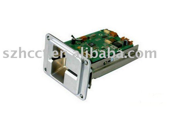 manual insert RFID/smart card