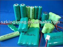 Ni-MH rechargeable battery 1.2V 2000mAh 1500mAh 3000mAh etc