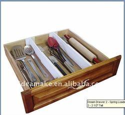 Drawer Divider Ideal for kitchen utensils,gadgets,cutlery, towels and pot holder