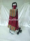 Outdoor folding shopping trolley bag