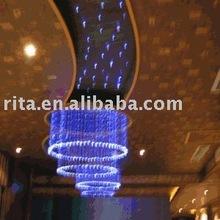 Fiber Optic ceiling Chandelier light;10