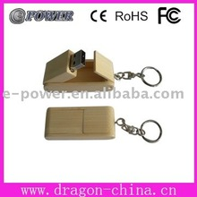 Promotion wooden case usb flash drive(U496)