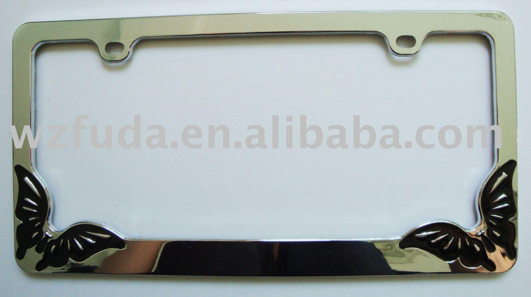 American license plate frame
