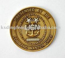 Distintivi antichi della moneta di oro